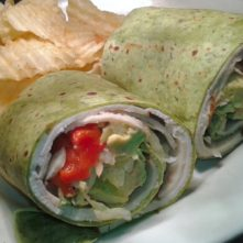Lunch Wrap from Quinn's Cafe